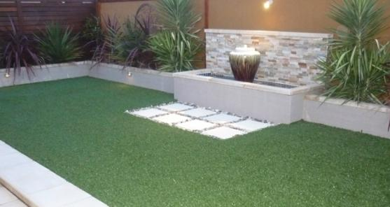 Water feature design ideas get inspired by photos of for Courtyard home designs adelaide