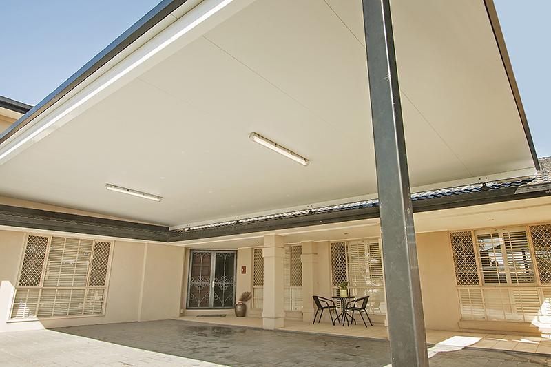 Kudos Carports Insulated Roof