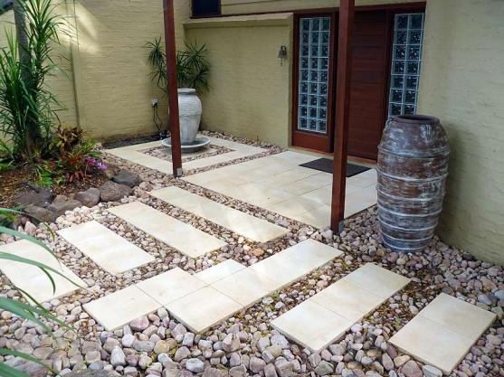 Paving Designs For Backyard travertine paving patio modern garden design landscaping earlsfield wandsworth london home outdoor decoration Paving Ideas By Sf Landscapes Coffs Harbour