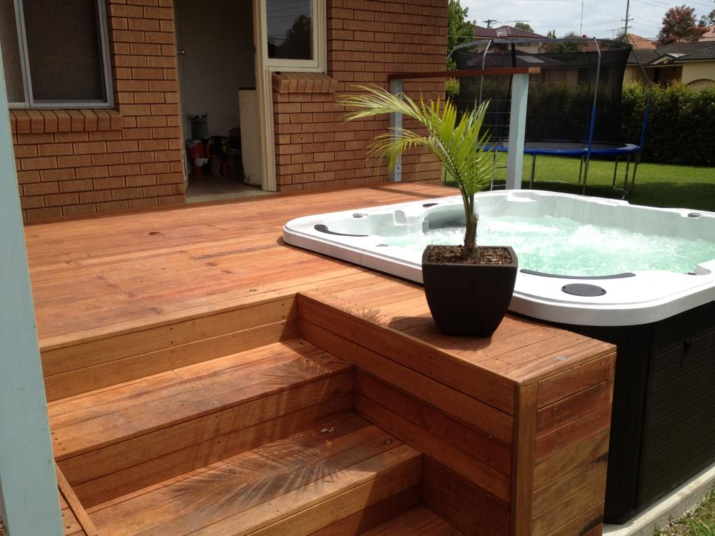 Dan the man landscaping sydney wide dan for Garden decking designs pictures