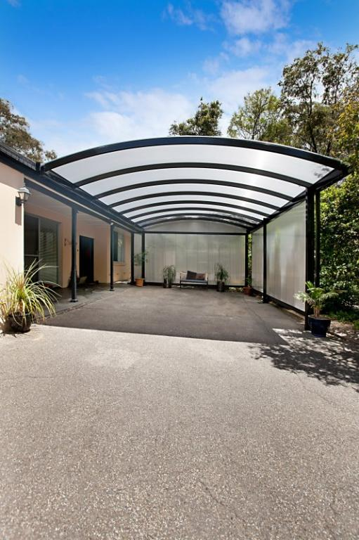 Carports inspiration creative outdoors australia for Carport flooring ideas