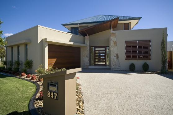 House Exterior Design by BREEZE HOMES PTY LTD