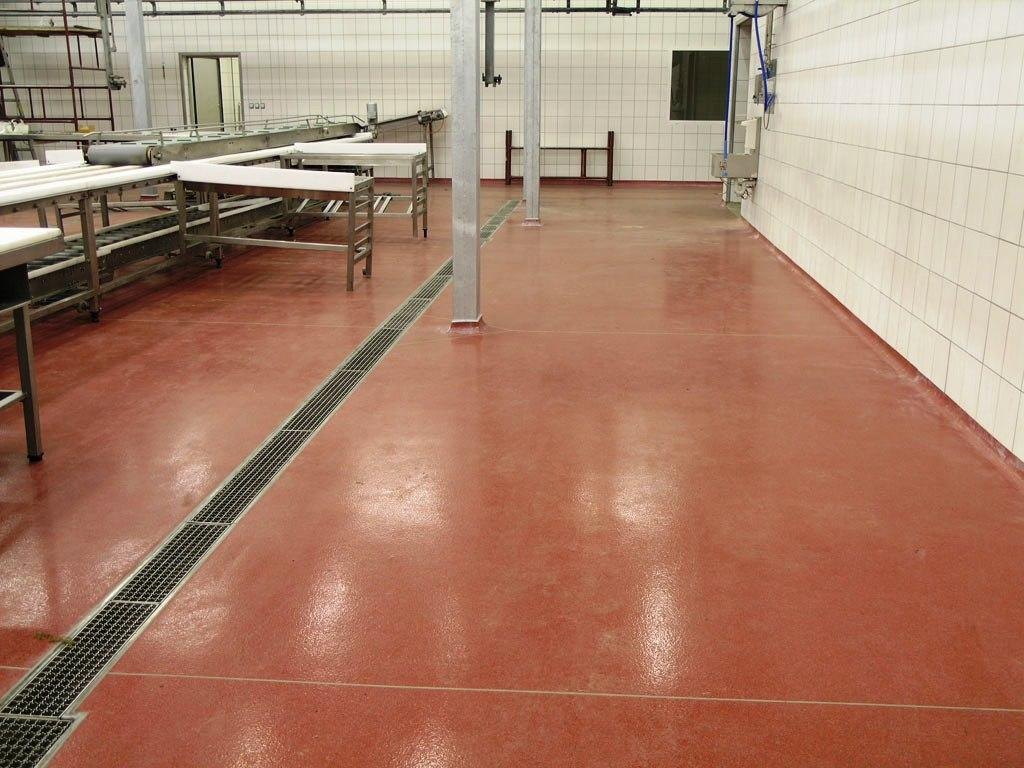 Industrial epoxy flooring pool paint waterproofing for Industrial flooring for homes