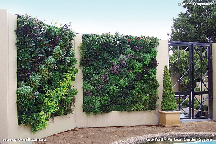 vertical garden design ideascadagucom - Home And Garden Designs
