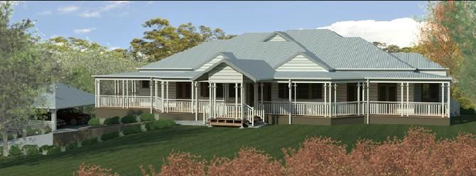 Luxury Traditional Queenslander Style Home - Design Gallery - tony ...