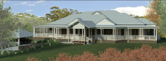 Gallery Luxury Traditional Queenslander Style Home