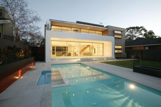 House Exterior Design by Philip Crouch Architects