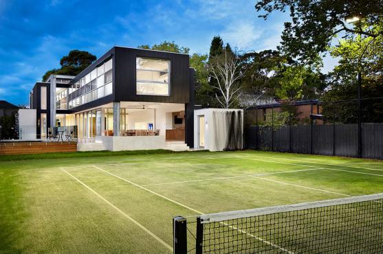 Tennis Court Ideas by Philip Crouch Architects