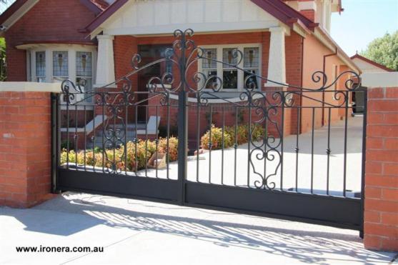 Wrought Iron Gates by Iron Era
