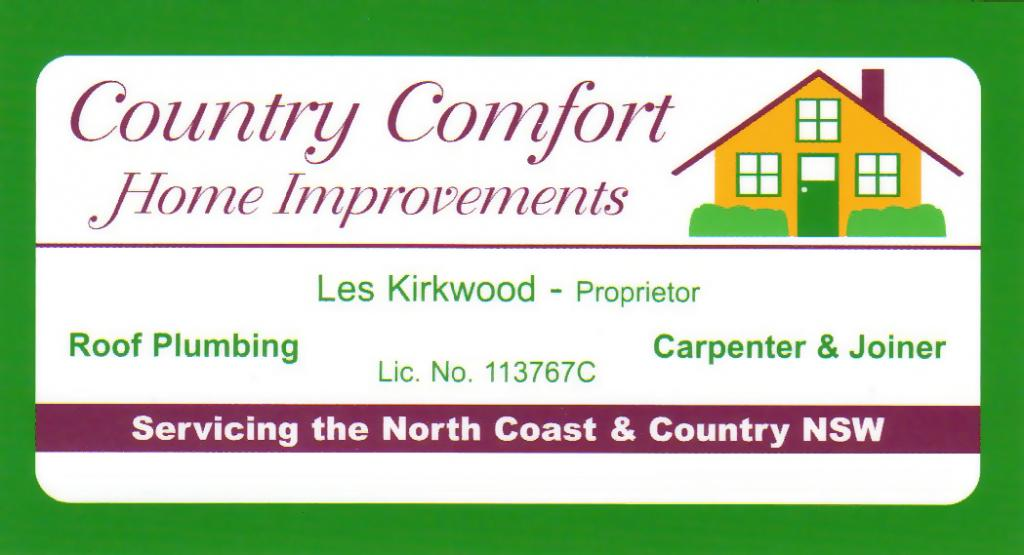 Country Comfort Home Improvements Coffs Harbour New
