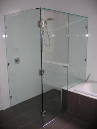 Frameless Shower Screen Designs by The Glass Store