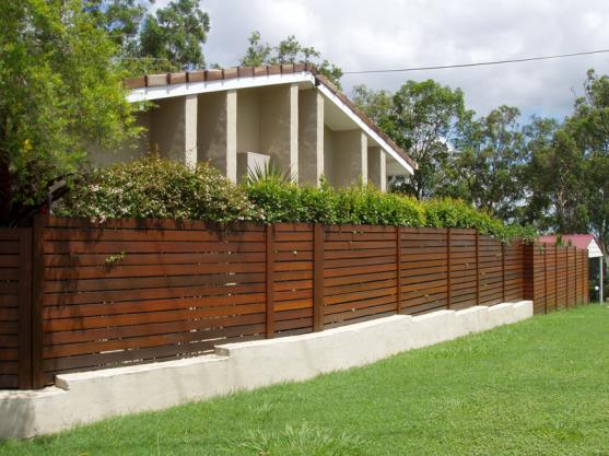 Timber Fencing Designs by scenic scapes landscaping