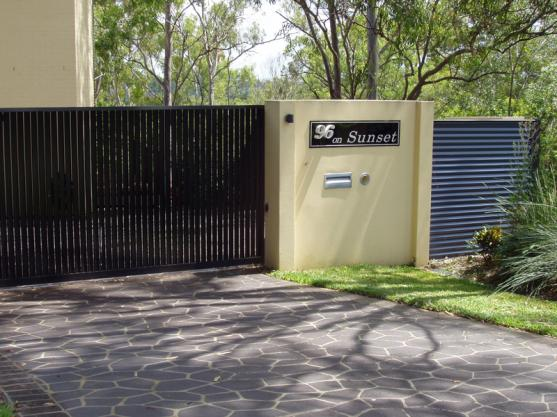 Pictures of Gates by scenic scapes landscaping