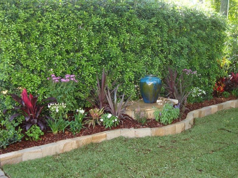 Garden Borders Inspiration : Style ideas gardens paving tiling and garden edging