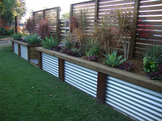 Fence design ideas get inspired by photos of fences from for Back garden designs australia