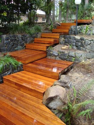 Timber Decking Ideas by scenic scapes landscaping