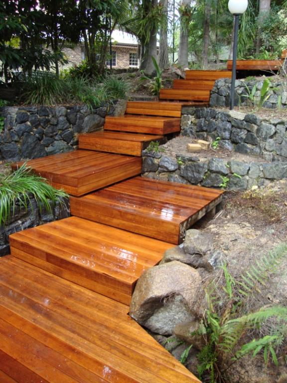 timber decks inspiration - scenic scapes landscaping