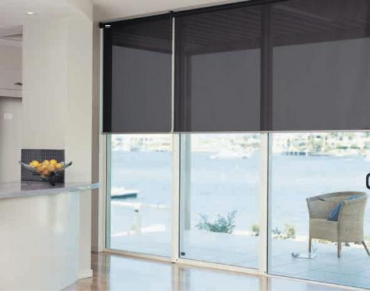 Roller Blind Designs by Kim Macfarlane Interiors