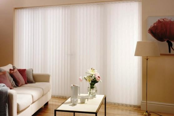 Vertical Blind Designs by Kim Macfarlane Interiors