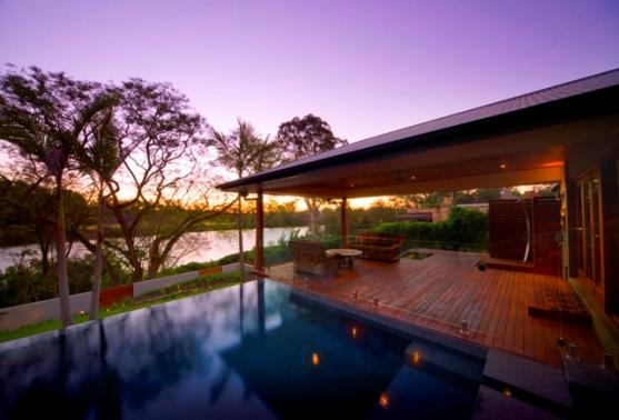 Timber Decking Ideas by Aesthetic Pools and Landscapes