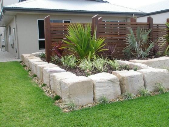 Retaining wall design ideas get inspired by photos of for Budget landscapes adelaide