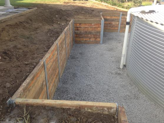 Retaining wall design ideas get inspired by photos of for Cheap landscaping adelaide