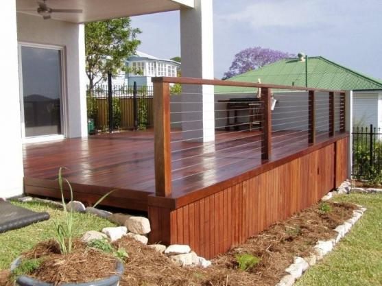 Elevated Decking Ideas by Aesthetic Pools and Landscapes