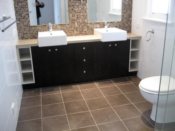 Bathroom Tile Design Ideas by Elyse Cabinets