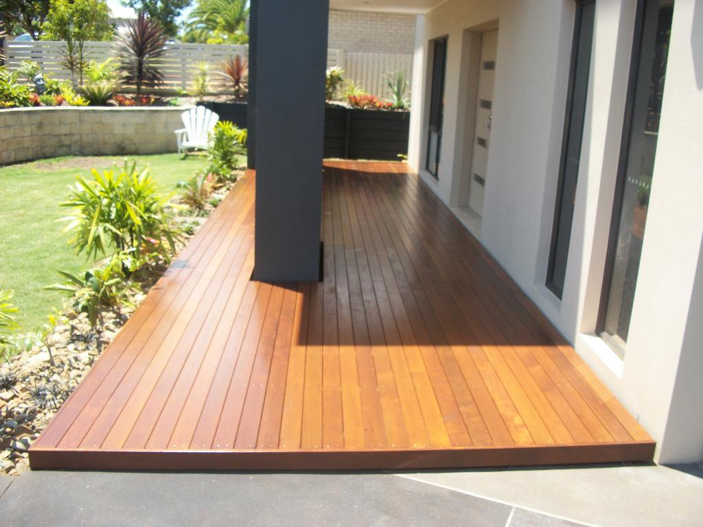 Deck ideas timber decks decks modern lifestyle - Decke modern ...