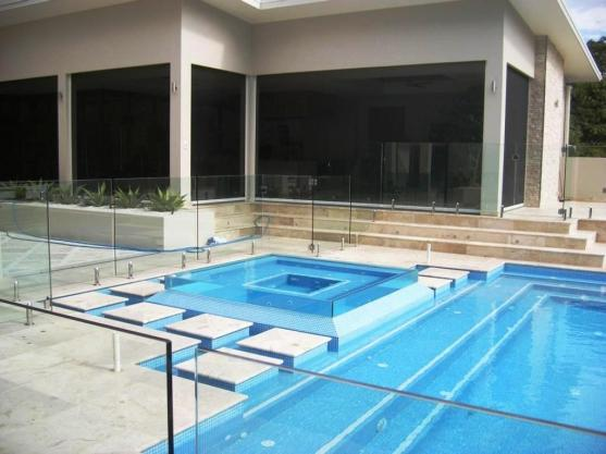 spa design ideas by clarity glass pool fencing and balustrading - Spa Design Ideas