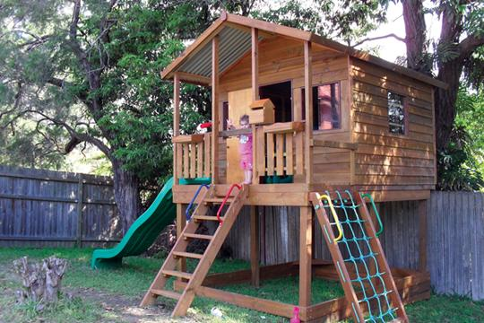 Captivating Style Ideas   Tree Houses   Kids Cubby House   Mattu0027s Homes U0026 Outdoor  Designs   Australia | Hipages.com.au
