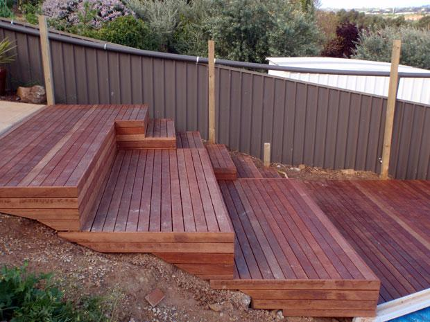 Timber decks inspiration 4 life constructions for Australian hardwood decking