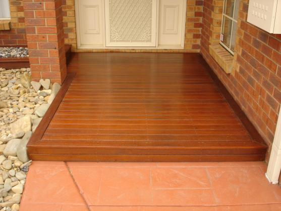 Timber Decking Ideas by AMG Landscaping