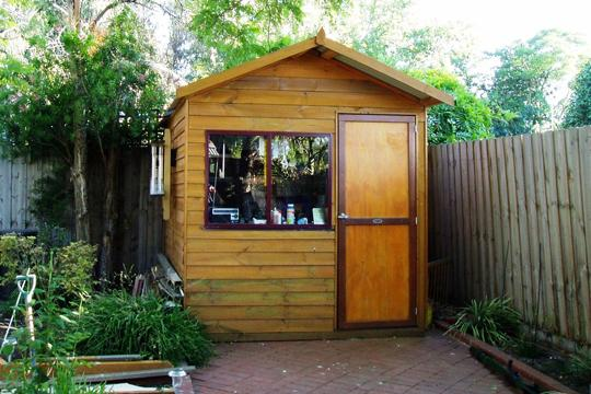 Sheds design ideas get inspired by photos of sheds from for Wooden studios for gardens