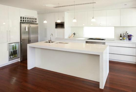 Kitchen island design ideas get inspired by photos of for Galley kitchen designs australia