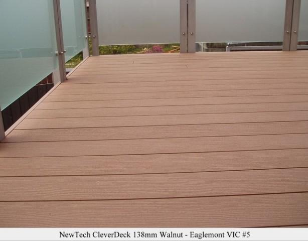 Composite decking the eco deck alternative to timber for Sustainable decking