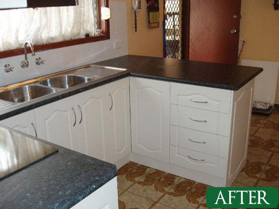 Kitchens Before & After