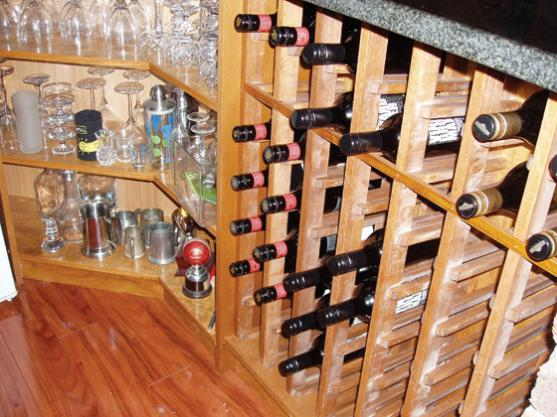 Wine Rack Ideas by Rosepeak Kitchens
