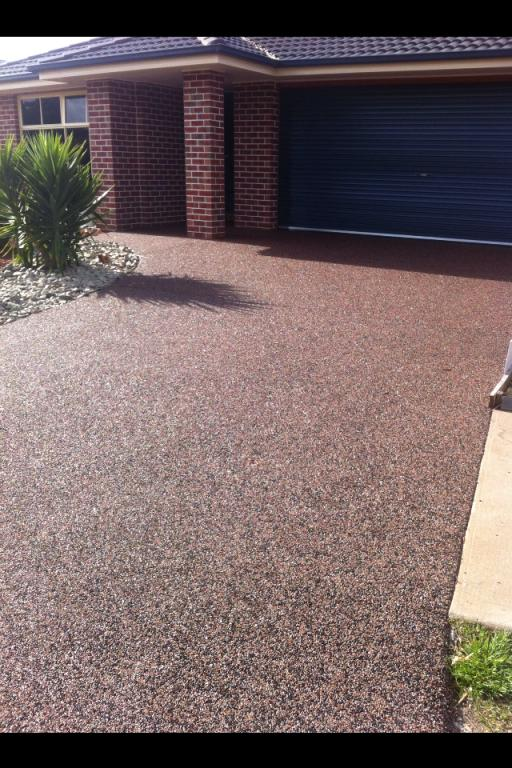 resin bound pebblecrete