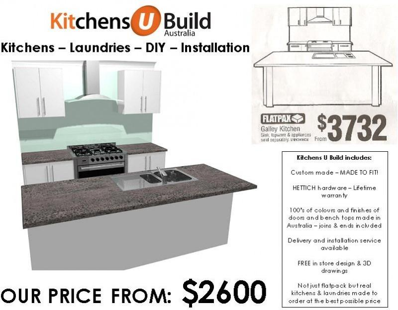 kitchens and laundries