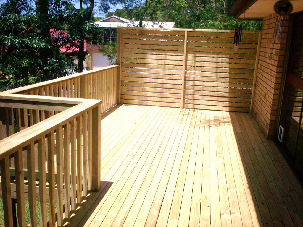 Elevated Decking Ideas by PRO-BUILT Carpentry.