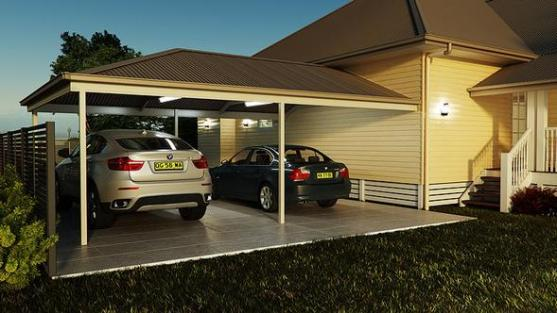 Carports on pergola designs attached to house