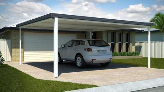 carport design ideas by lysaght living collection - Carport Design Ideas