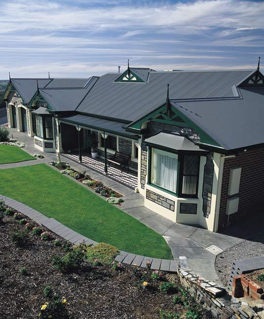 Colorbond roofing inspiration m t dean homes australia for Colorbond home designs
