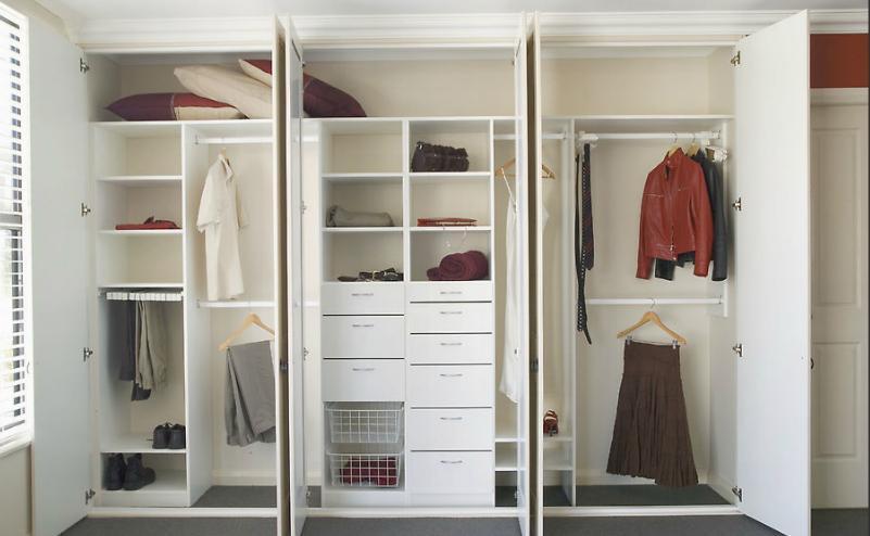 Distinctive storage closets attics distinctive for Interior designs for wardrobes