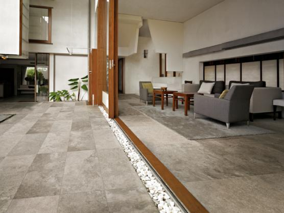 Tile design ideas get inspired by photos of tiles from for Indoor outdoor flooring options