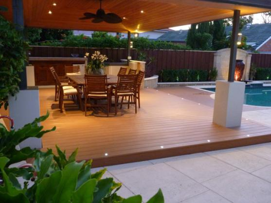 Timber deck design ideas get inspired by photos of for Decking for back garden
