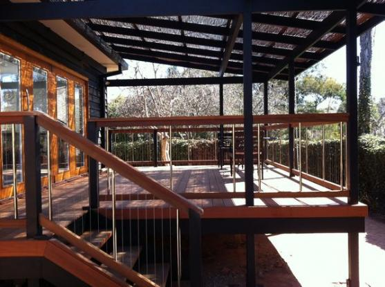 Elevated Decking Ideas by ANDC Pty Ltd