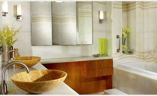Bathroom Basin Ideas by Natalie Interior Design & Consultants