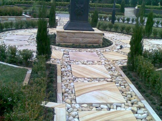 Paving Ideas by TONY HADCHITY SANDSTONE PTY LTD